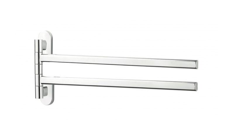 Demerx <br> <strong> Vridbar Handdukshängare med 2 stänger Zeker Line </strong>