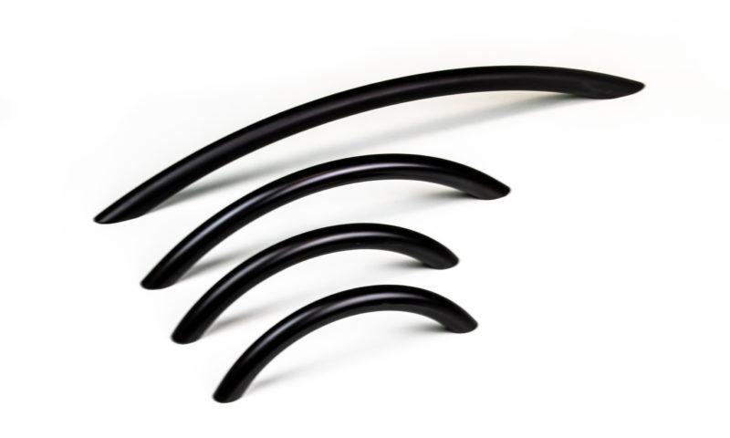 NorthernHome <br> <strong> Handtag Curve Matt Svart </strong>