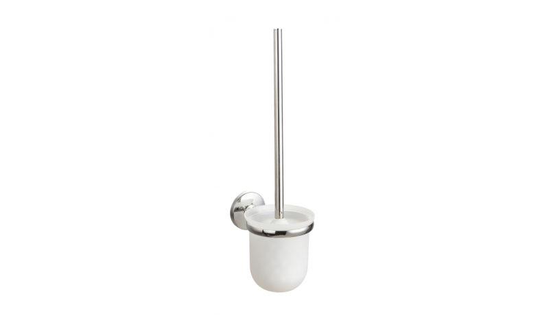Demerx <br> <strong> WC-borste med glaskopp High Sicuro Line </strong>