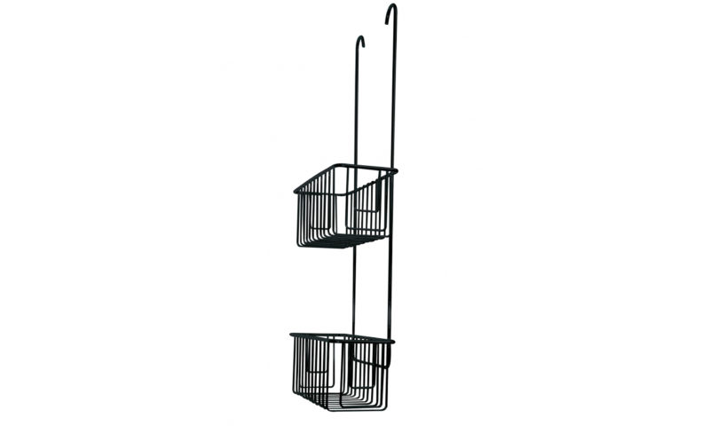Demerx <br> <strong> Mixer Shelf Twin Svart 150 – 160CC </strong>