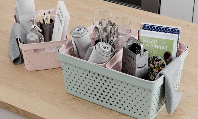 Nordiska Plast <br> <strong> Store It® Förvaringskorg Star Basket 4,5L Rosa </strong>