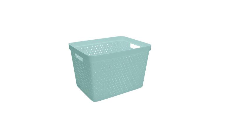 Nordiska Plast <br> <strong> Store It® Förvaringskorg Star Basket 19L Grön </strong>