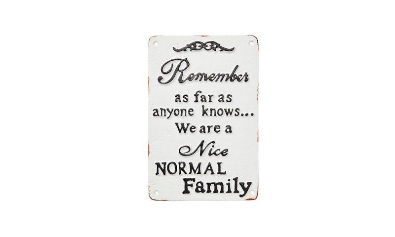 Affari <br> <strong> FACIA Skylt, Normal Family</strong>
